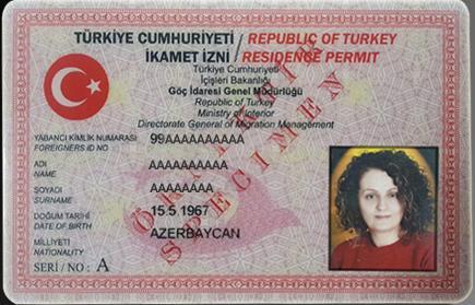 residence permit turkey